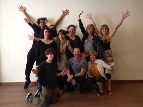 Chekov Workshop 2012. photo by Hugh O'Gorman, 7 hours from 11h to 18h