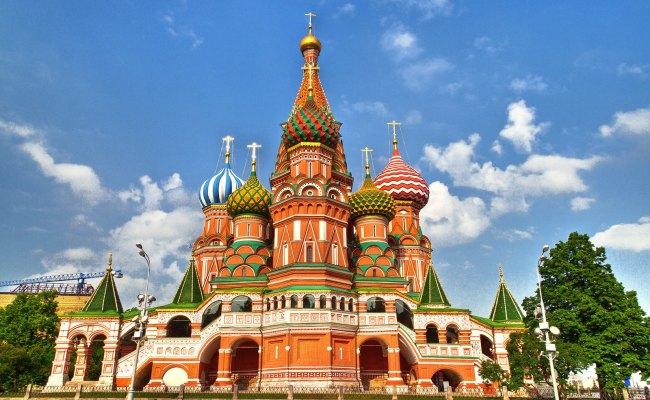 Catedral De San Basilio Moscú Rusia Flickr Photo