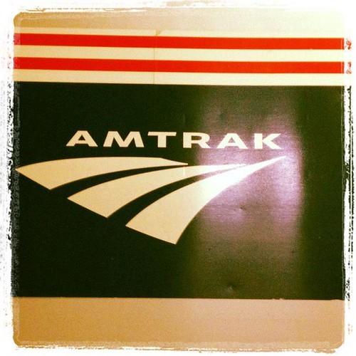 amtrack logo train