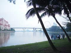 Nicoll Highway, Marina Reservoir, Kallang Park Connector