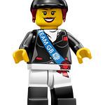 8909 Team GB Horsebackrider