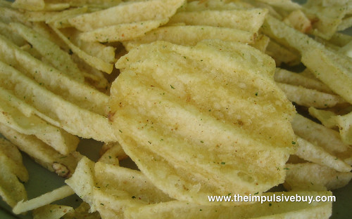 Ruffles Ultimate Kickin' Jalapeño Ranch Closeup