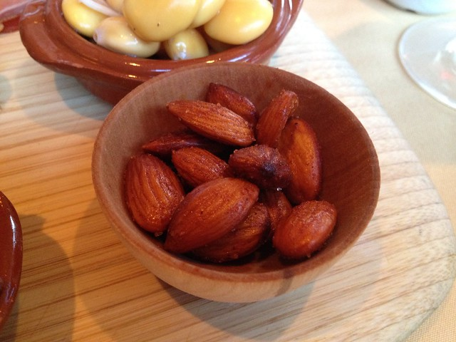 Toasted almonds - LaSalette Restaurant