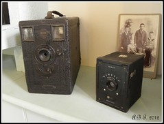 Briton and Kodak Hawkeye Cameras