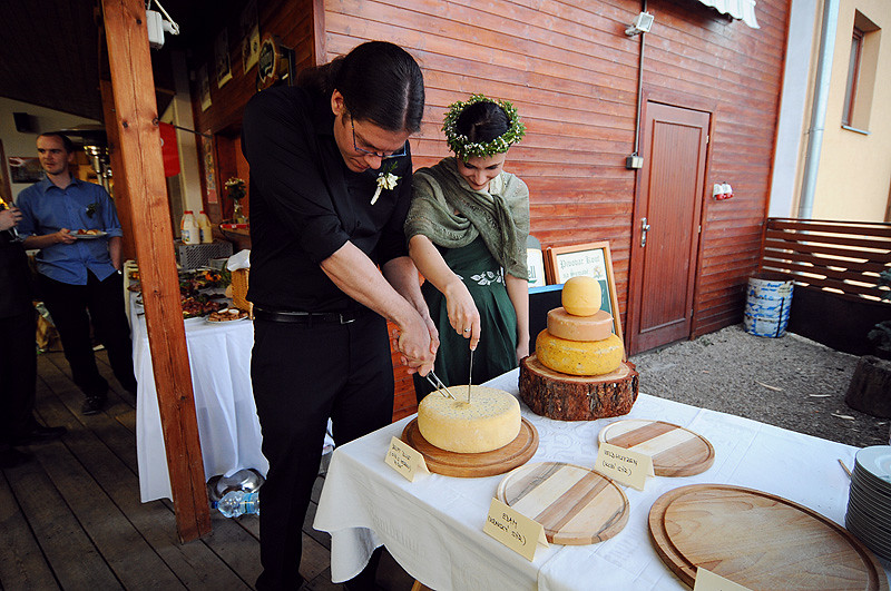 "Cutting of the ""cake"""