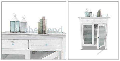 once. (cabinet with lanterns set)