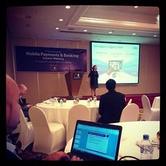 Visa ขึ้นพูดเรื่อง Mobile Payment ในงานสัมมนา Mobile payment & Banking Great Mekong ที่โฮจิมิน เวียดนาม #PomVN