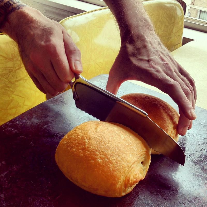 Croissants and Bonesaw
