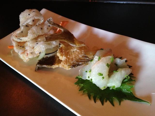 Halibut tartare - Saru Sushi Bar