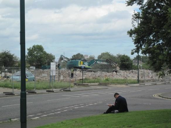 James Finegan Hall Demolition, Eston
