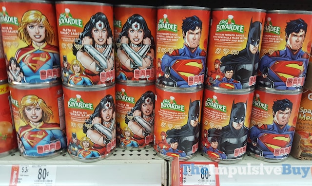 Chef Boyardee DC Comics Canned Pasta
