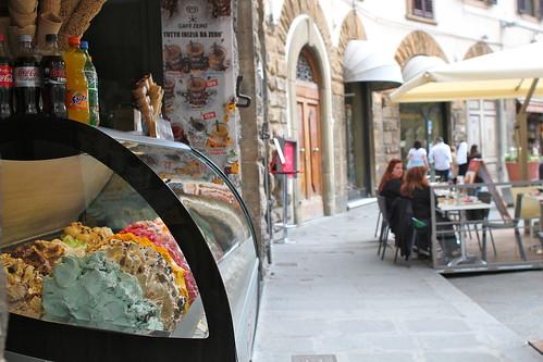 Gelato! But the trick to get good gelato is ...