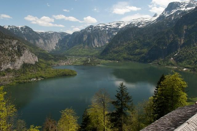 Hallstatt 湖