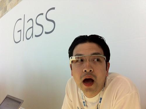 Google Glass @ Google I/O 2012