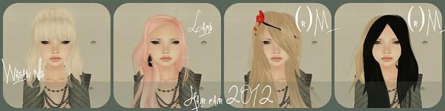 Hair Fair 2012 Faves Collage