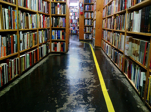 Seminary CoOp Bookstore, Chicago by Edith OSB