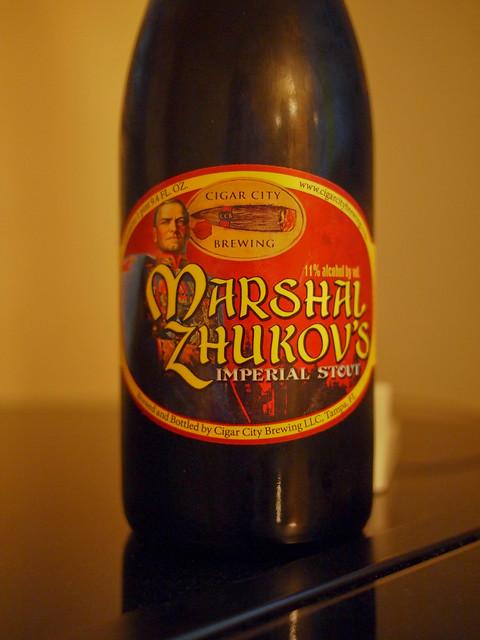 Marshal Zhukov's Imperial Stout - Cigar City
