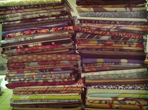 Fabric Friday - 80 Fat Quarters