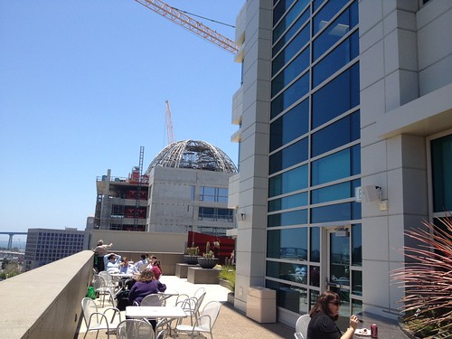 View from one of (!) TJSL's patios