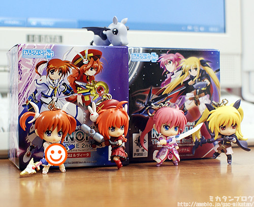 Nendoroid Plus Charm Nanoha, Vita, Signum, and Fate