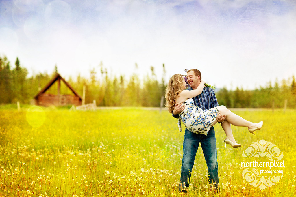 Kaitlyn & Ian- Prince George Engagement Session BC