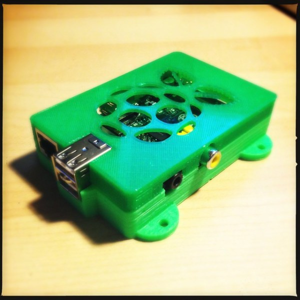 Raspberry Pi with 3d printed case