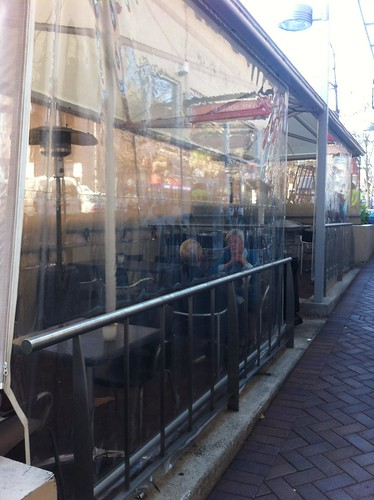 outsdoor seating - thyme square, hornsby