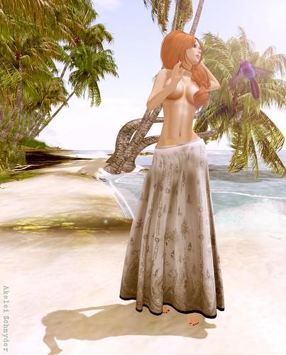 DRD - Boho Skirt - Flowers