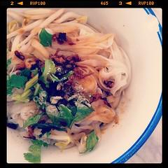 Penang beef kway teow (dry)