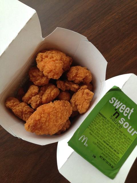 Spicy chicken McBites - McDonald's
