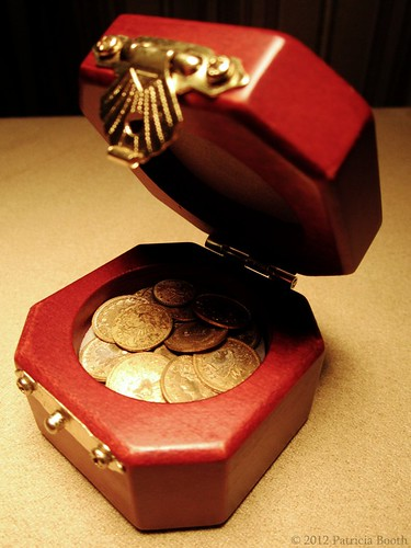 Day 129 Tiny Treasure Chest by pixygiggles