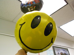 Happy Face Balloon