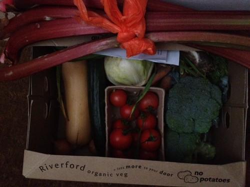 Veg box 31st May 2012
