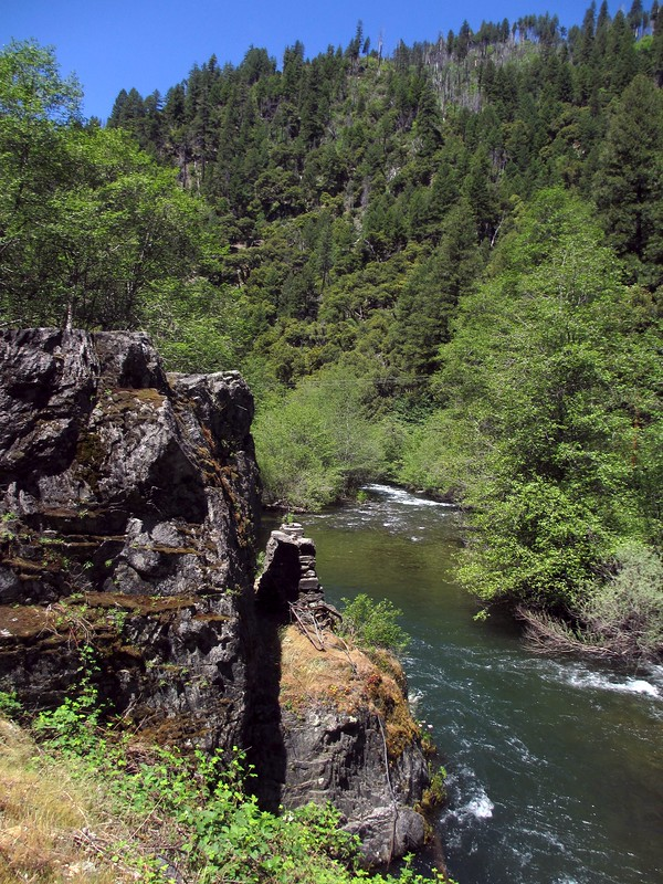 North fork of the Feather River at Plumas National Forest.
