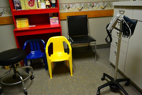 chairs for little people in my doctor's office by gnawledge wurker