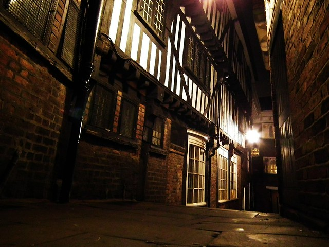 Alley way in York