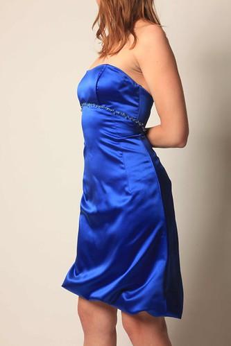 Dress rehab: Make a bridesmaid dress into a fun prom dress