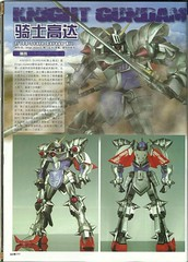 MG Knight Gundam Basic Mode Resin Conversion Kit (9)