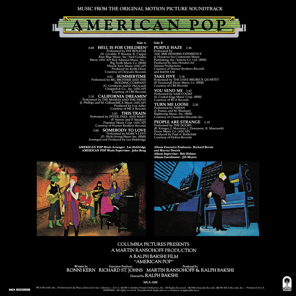 Lee Holdridge - American Pop