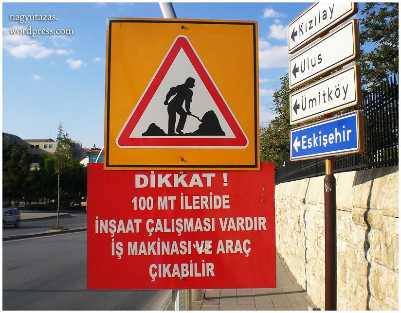 Útépítés török módra