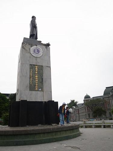 【三人行】台南「湯德章紀念公園」周遭繞一圈(7.8ys)