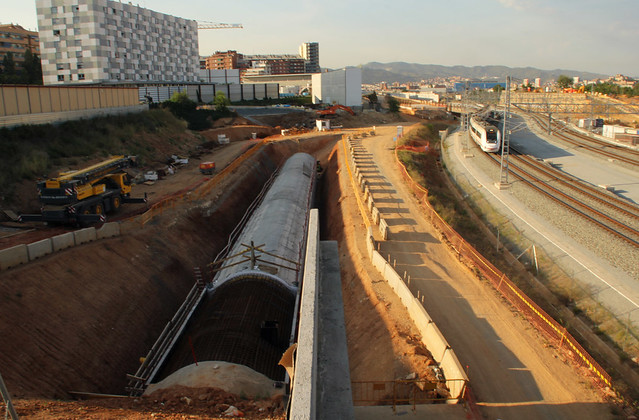 Zona nuevo puente del trabajo lado montana