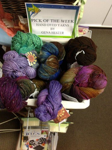 Dye your own yarn, yarn dying classes