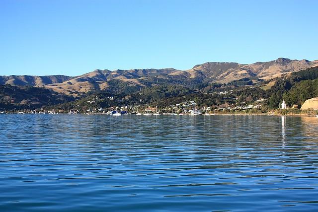 Akaroa, Banks Peninsula, South Island, New Zealand