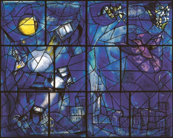 Marc Chagall - America Windows Literature And Freedom St
