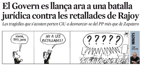 12g26 LV El día del rescate y el pacto fiscal catalán