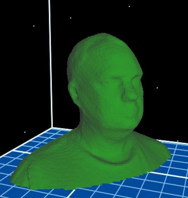 ReconstructMe Kinect Scan