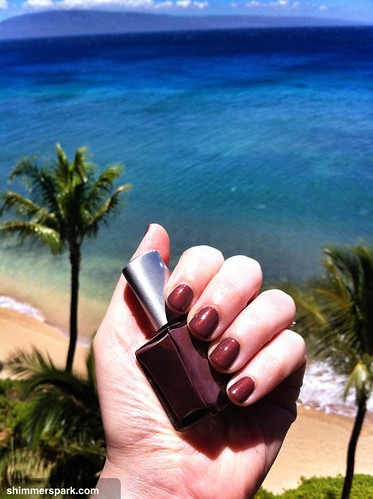 Honeymoon Nails and our awesome view!!