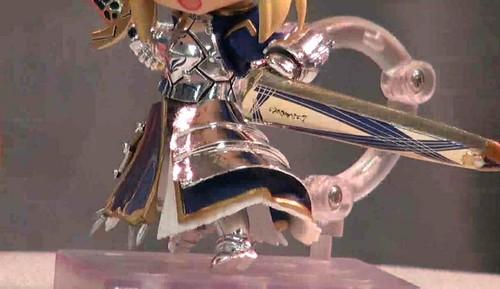 The shiny armor