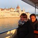 Boat ride on the Danube in 17 degree summer weather... cold snap!
